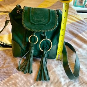 5c36fcd2 See By Chloe Bags | Collins Fringe Suede Saddle Bag | Poshmark